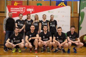 AZS UMK Toruń. Sekcja badmintona na AMP 2018 (fot. nadesłana)